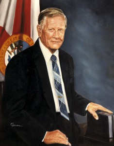 Government Official Portrait Painting